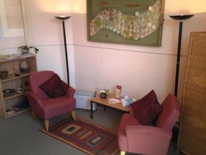Counselling room at the Simeon Centre